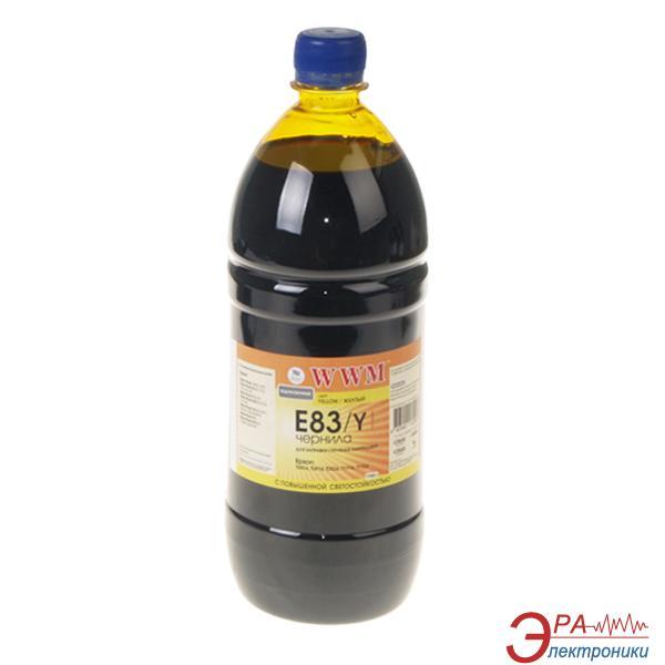 Чернила WWM Epson Stylus Photo R270/T50/TX650 Yellow (E83/Y-3) (G224143) 1100 мл (г)