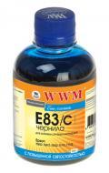 Чернила WWM Epson Stylus Photo R270/P50/R290/RX615/T50/TX650 (E83/C) (G224121) 200 мл (г)