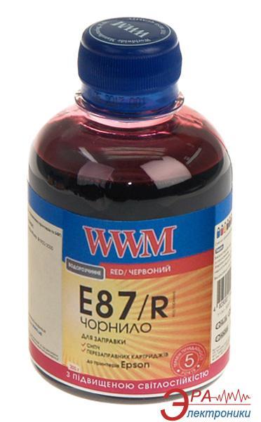 Чернила WWM Epson Stylus Photo R1900 Red (E87/R) (G224271) 200 мл (г)