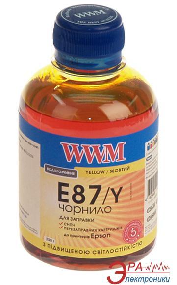 Чернила WWM Epson Stylus Photo R1900/2000 Yellow (E87/Y) (G224261) 200 мл (г)