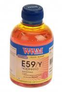 Чернила WWM Epson Stylus Pro 7700/9700/9890 Yellow (E59/Y) (G224491) 200 мл (г)