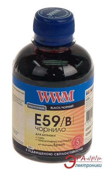 Чернила WWM Epson Stylus Pro 7700/9700/9890 Black (E59/B) (G224461) 200 мл (г)
