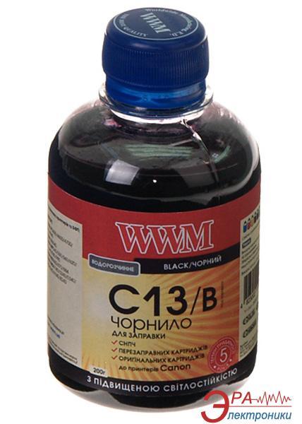 Чернила WWM Canon CLI-521B/CLI-426B Black (C13/B) (G220361) 200 мл (г)