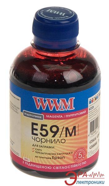 Чернила WWM Epson Stylus Pro 7700/9700/9890 Magenta (E59/M) (G224481) 200 мл (г)
