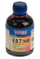 Чернила WWM Epson Stylus Photo R1900/2000 Matte Black (E87/MB) (G224221) 200 мл (г)