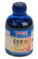 Чернила WWM Epson Stylus Pro 7700/9700/9890 Cyan (E59/C) (G224471) 200 мл (г)