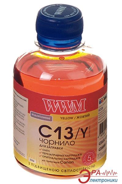 Чернила WWM Canon CL-511С/CL-513С/CLI-521Y Yellow (C13/Y) (G220401) 200 мл (г)