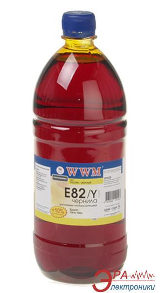 Чернила WWM Epson Stylus Photo T50/P50/PX660 Yellow (E82/Y-3) (G223933) 1100 мл (г)