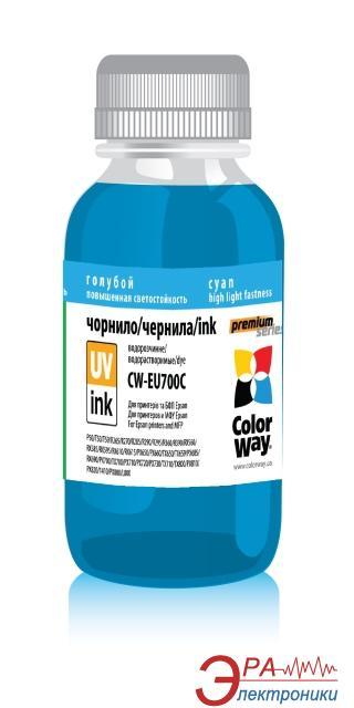 Чернила ColorWay Epson UV P50/PX700 (CW-EU700C) 100 мл (г)