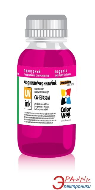 Чернила ColorWay Epson UV SX130/430 Magen. EU430M (CW-EU430M) 100 мл (г)