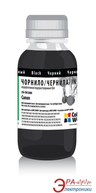 Чернила ColorWay Canon PG-510/PGI-520 Black CW520BK (CW-CW520BK) 1000 мл (г)