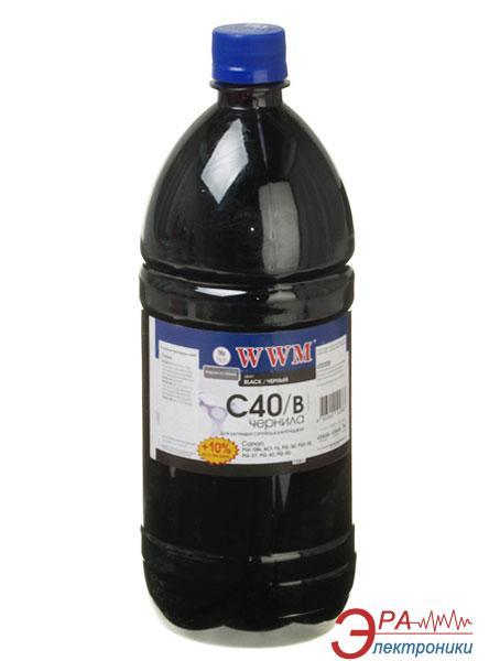 Чернила WWM Canon PG-40Bk/PG-50Bk/PGI-5Bk Black (C40/B-3) (G220653) 1100 мл (г)