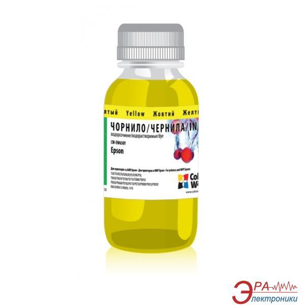 Чернила ColorWay Epson (T50/TX650) 200ml Yellow (CW-EW650Y02) 200 мл (г)