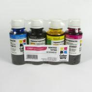 Комплект чернил ColorWay Epson Stylus L100/ L110/ L200/ L210/ L300/ L355/ L550 (CW-EU100SET-01) 100 мл (г)
