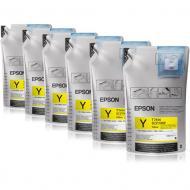 Чернила Epson SC-F6000/7000 Yellow (1Lx6packs) (C13T741400) 1000 мл (г)