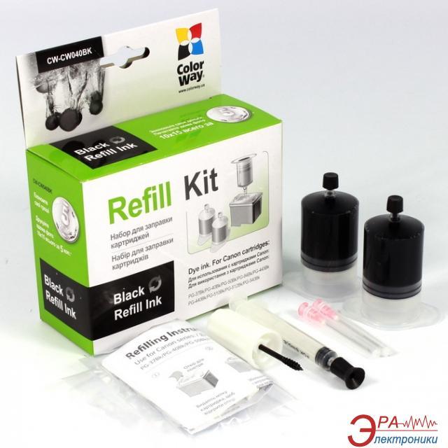 Заправочный набор ColorWay Canon PG-440/510 Black (CW-CW040BK) 2 x 20 мл (г)