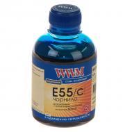 Чернила WWM Epson R800/1800 Cyan (E55/C) (G224561) 200 мл (г)