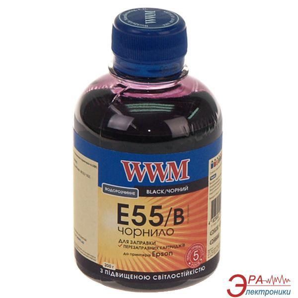 Чернила WWM Epson R800/1800 Black (E55/B) (G224541) 200 мл (г)