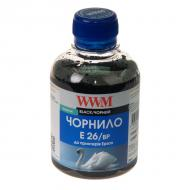 Чернила WWM Epson XP-600/605/700 Black Pigment (E26/BP) (G224621) 200 мл (г)