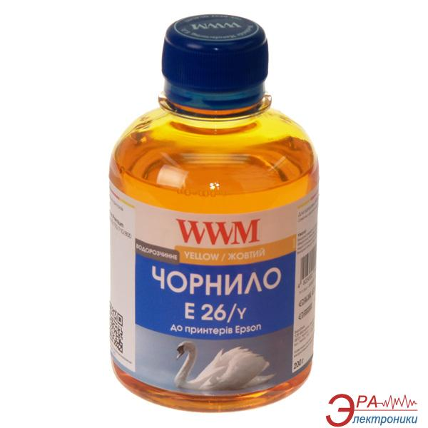 Чернила WWM Epson XP-600/605/700 Yellow (E26/Y) (G224651) 200 мл (г)