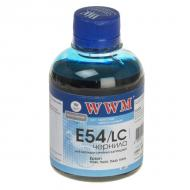Чернила WWM Epson StPhoto 2100/2200/ Pro4000/7600/9600/10600 Light Cyan (E54/LC) (G223611) 200 мл (г)