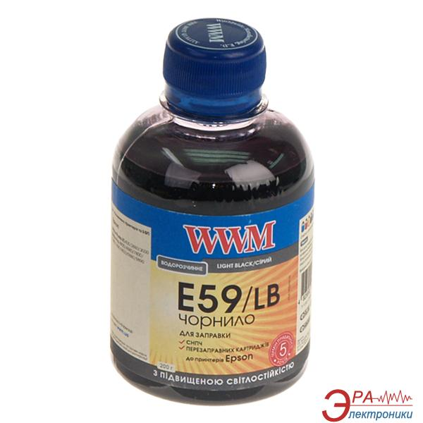 Чернила WWM Epson StPro 7890/9890 Light Black (E59/LB) (G224501) 200 мл (г)