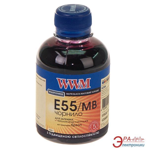 Чернила WWM Epson R800/1800 Matte Black (E55/MB) (G224551) 200 мл (г)