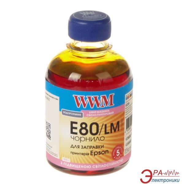 Чернила WWM Epson L800 Light Magenta (E80/LM) (G224711) 200 мл (г)