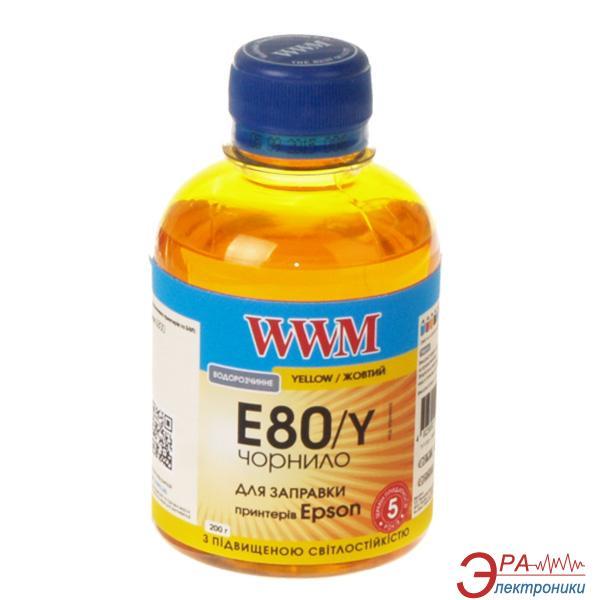 Чернила WWM Epson L800 Yellow (E80/Y) (G224691) 200 мл (г)