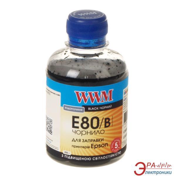 Чернила WWM Epson L800 Black (E80/B) (G224661) 200 мл (г)