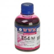 Чернила WWM Epson StPhoto 2100/2200/ Pro4000/7600/9600/10600 Magenta (E54/M) (G223591) 200 мл (г)