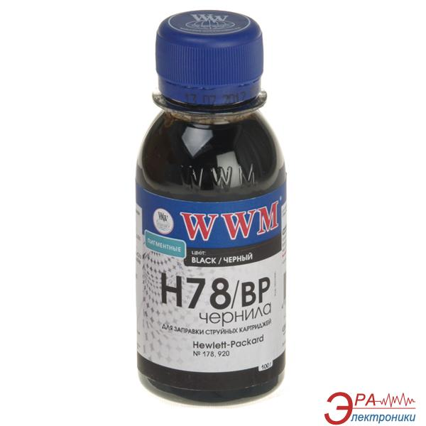 Чернила WWM HP №178 Black Pigmented (H78/BP-2) (G225172) 100 мл (г)