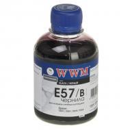 Чернила WWM Epson R2400/2880 Black (E57/B) (G222521) 200 мл (г)