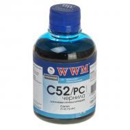 Чернила WWM Canon CL-52/CLI-8PC Photo (Cyan) (C52/PC) (G220711) 200 мл (г)