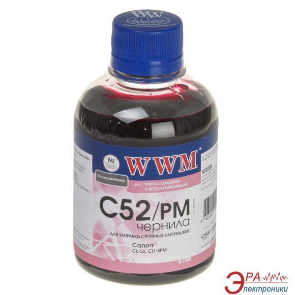 Чернила WWM Canon CL-52/CLI-8PC Photo (Magenta) (C52/PM) (G220721) 200 мл (г)