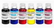 Комплект чернил ColorWay Epson Sublimation (CW-ES500SET(BK/C/M/Y/LC/LM)01) 6 x 100 мл (г)