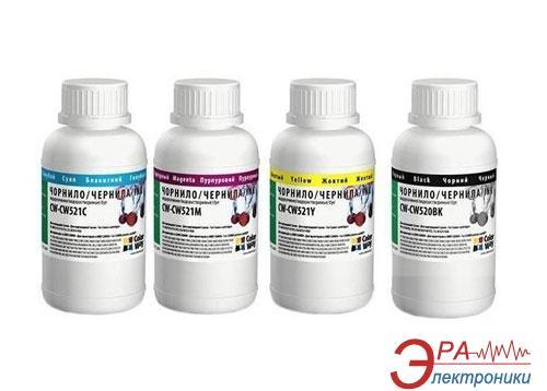 Комплект чернил ColorWay Canon PG-510/CLI-521 BK/С/M/Y (CW-CW520/CW521SET02) 4 x 200 мл (г)