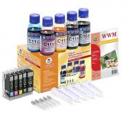 �������� ���������������� ���������� WWM RC.CLI521ARC (G085182) Canon (Pixma MP540/MP550/MP620/MP630/MP640/MX860/MX870/iP3600/iP4600/iP4700)