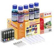 �������� ���������������� ���������� WWM RC.CLI-521 (G085181) Canon (Pixma MG5140/MG5240/ MG5340/MP540/MP550 /MP620 /MP630/MP640/MX860 /MX870/iP3600/iP4600 /iP4700/iP4840 /iP4940)