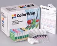 Комплект перезаправляемых картриджей ColorWay P50RC-0.0 Epson (Stylus Photo P50/R265/ R285/R360/ RX560/RX585/ RX595/PX650/ PX660/PX685/ PX700/PX710/ PX720/PX810/ PX820/PX800)