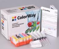 Комплект перезаправляемых картриджей ColorWay IP3600RN-4.5 Canon (PIXMA MP540/MP550/MP560/MP620/MP630/MP640/MX860/MX870/IP3600/IP4600/IP4700/IP4840/MG5140/MG5240/IX6540/IP4940/MG5340)