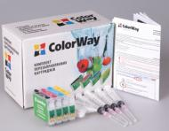 Комплект перезаправляемых картриджей ColorWay T26RC-0.0 Epson (Stylus T26/T27/C91/TX106/TX109/TX117/TX119/CX4300)