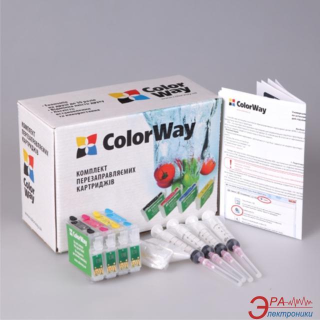 Комплект перезаправляемых картриджей ColorWay (TX200RC-4.5G) Epson (Stylus Office TX300 Stylus CX9300 / CX8300 / CX7300 / CX6900 / CX5900 / CX4900 / CX3900 / TX419 / TX410 / TX409 / TX400 / TX219 / TX210 / TX209 / TX200 / C79)