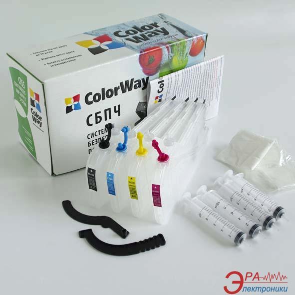 Комплект перезаправляемых картриджей ColorWay (LC1240RN-0.0) Brother (DCP J525 / J725 / J925 MFC J430 / J5910 / J625 / J6510 / J6710 / J6910 / J825)