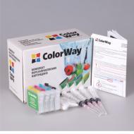 Комплект перезаправляемых картриджей ColorWay (C67RC-4.1) Epson (Stylus C67 / C87 / CX3700 / CX4100 / CX4700)