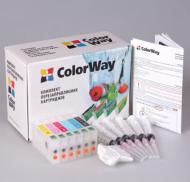 Комплект перезаправляемых картриджей ColorWay (RX700RC-0.0) Epson (Stylus Photo RX700)