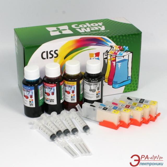 Комплект перезаправляемых картриджей ColorWay (IP7240RC-5.1) Canon (PIXMA IP7240/ MG5440/ MG5540/ MG6440)