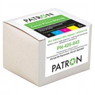 Комплект перезаправляемых картриджей Patron (PN-425-043) (CIR-PN-CPGI425C-043) Canon (MG5140/ 5240/ 5340)
