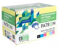 Комплект перезаправляемых картриджей Patron (PN-082-N032) (CIR-PN-ET082-032) Epson (T50/ R270/290/ RX590/ 610)