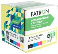 Комплект перезаправляемых картриджей Patron (PN-H655-N056) (CIR-PN-H655-056) HP (DeskJet 3525/ 4615/ 4625/ 6525)
